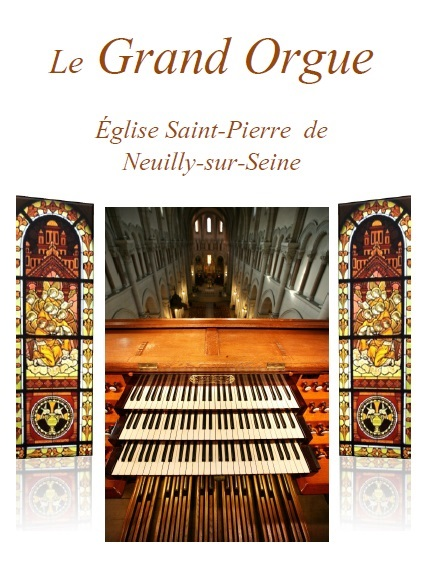 Brochure Grand Orgue Neuilly-sur-Seine